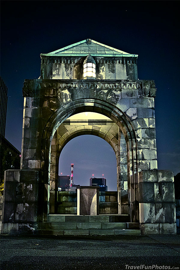 Arch in Otemachi, Tokyo, Japan