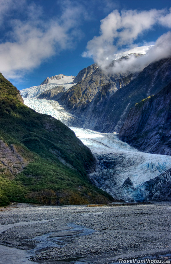 Franz Josef Glacier on The West Coast of New Zealand