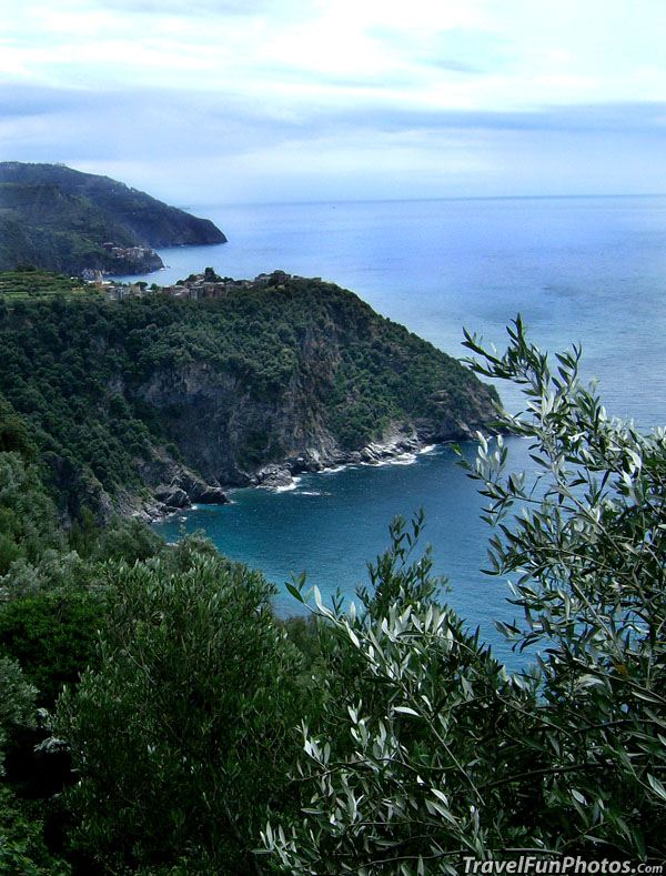 Beautiful Coast Line of Clinque Terre, Italy