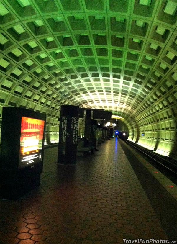 Unique Subway in Washington dc - USA