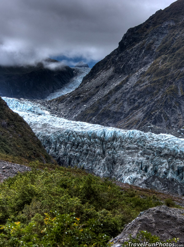 Awesome Fox Glacier in New Zealand