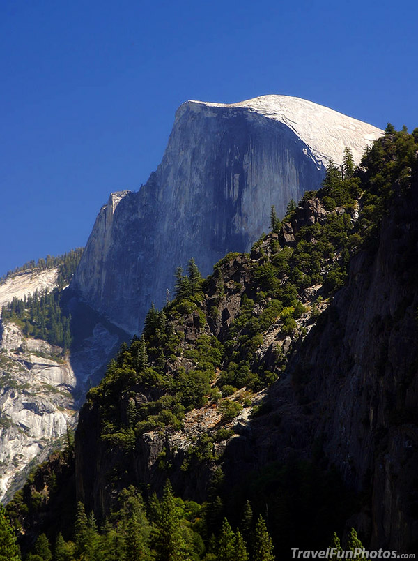 Half Dome in Yosemite National Park, California - USA