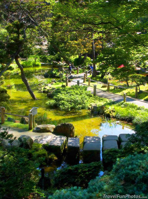 Japanese Tea Garden, Golden Gate Park, San Francisco, California – USA
