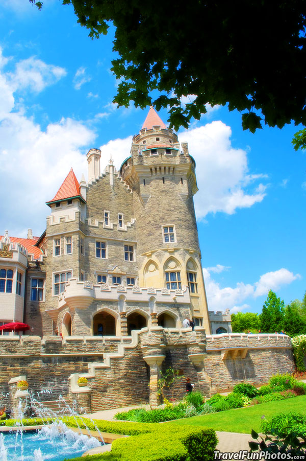 Beautiful Casa Loma in Toronto Canada