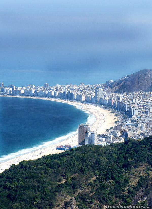Sea Side in Rio de Janeiro, Brazil