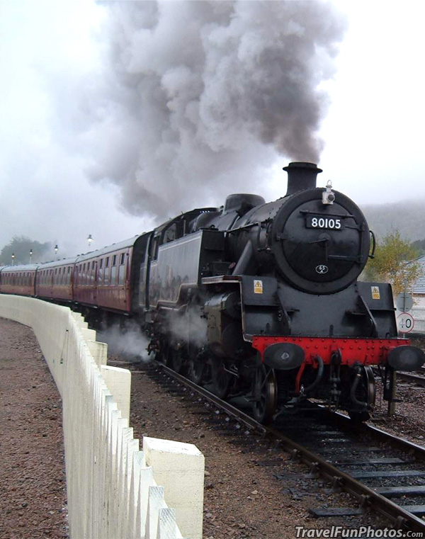 Strathspey Railway - Aviemore, Scotland