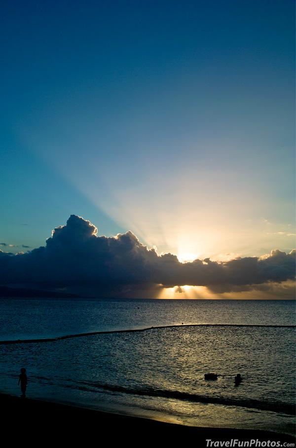 Sunset on Ishigaki Island, Okinawa, Japan