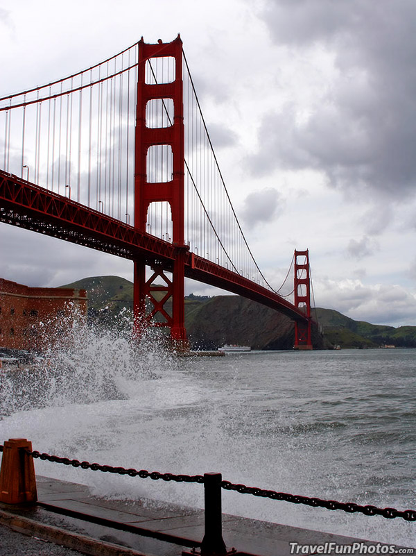 The Golden Gate Bridge in San Francisco, California – USA