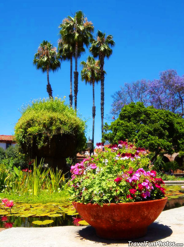 Mission at San Juan Capistrano, California – USA