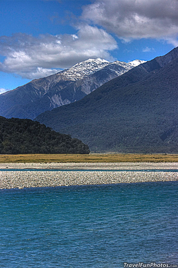 View From Haast Valley, New Zealand